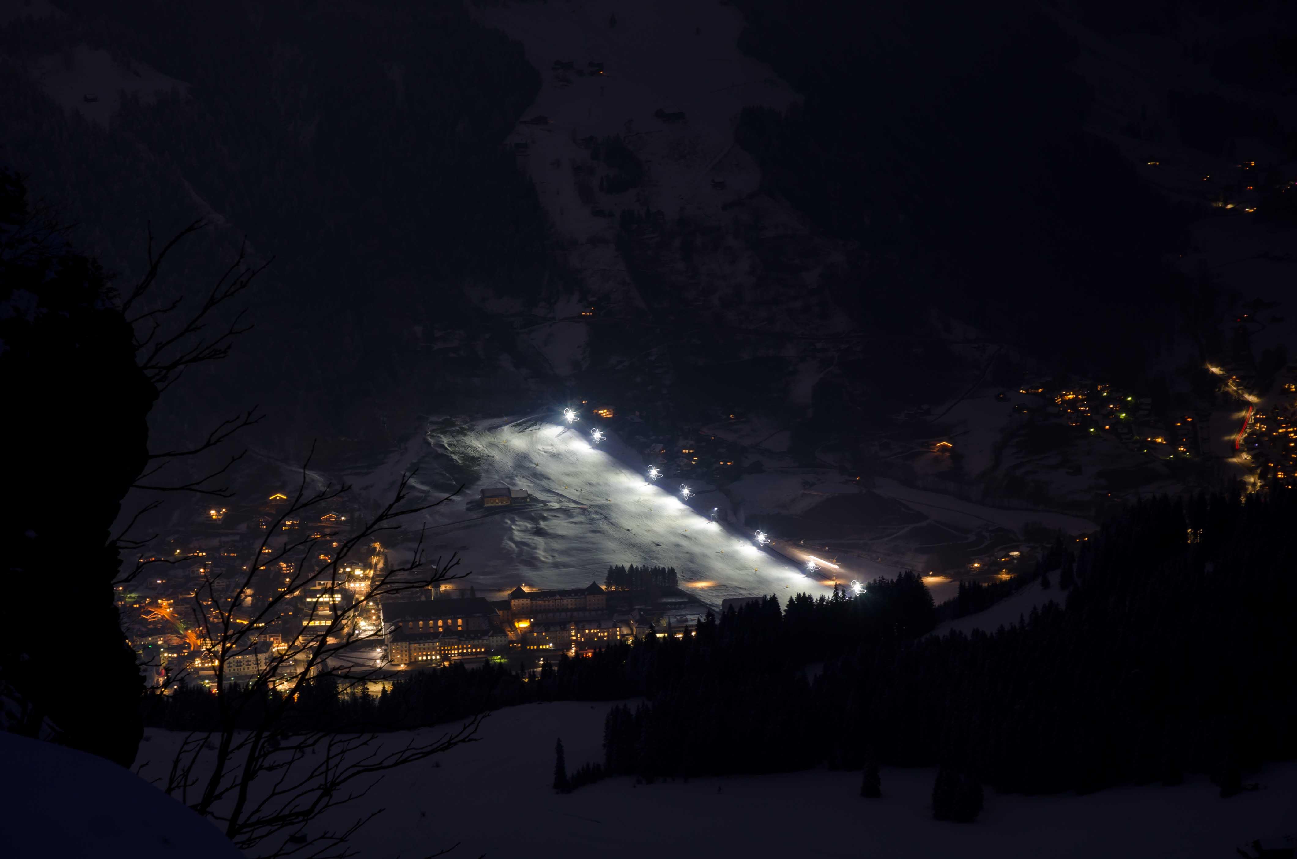 engelberg esqui nocturno