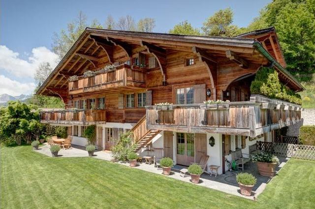 el chale mas caro de Gstaad