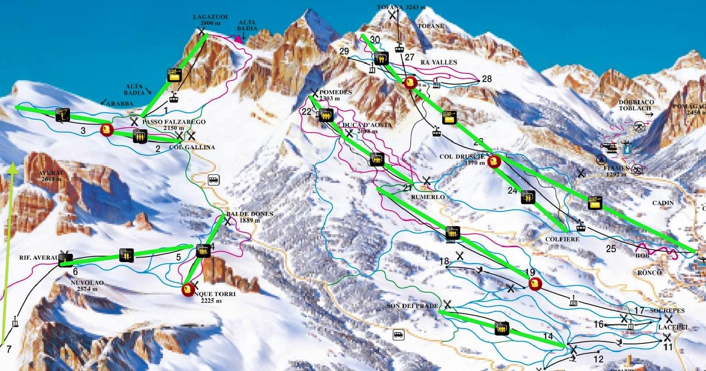 Vuelve el esqu de verano a Cortina dAmpezzo despus de 12 aos