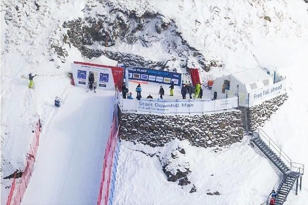 En la pista de descenso Free Fall de St. Moritz se alcanzan hasta 140 km/h. Imagen: St. Moritz