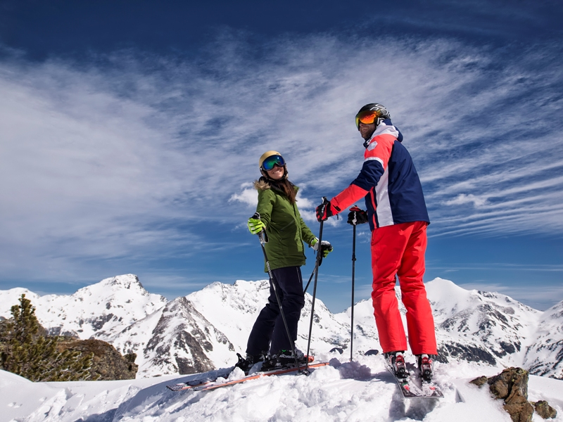 Esquí en Vallnord. Crédito: Gustavo Subilibia