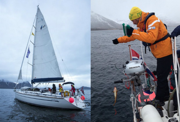 En el barco de Sail Norway todos éramos un equipo, cada uno con diferentes tareas