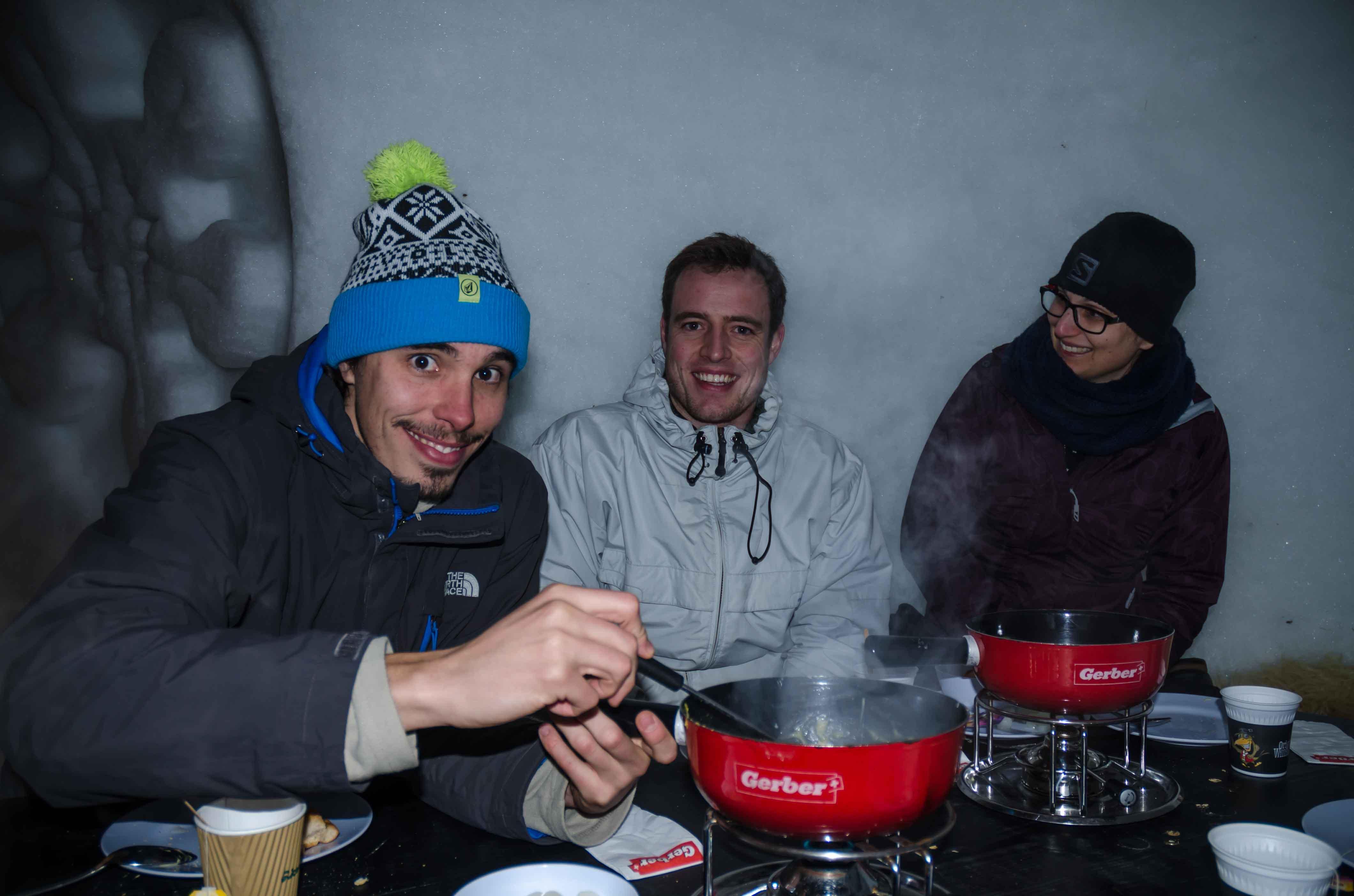 fondue en iglu engelberg