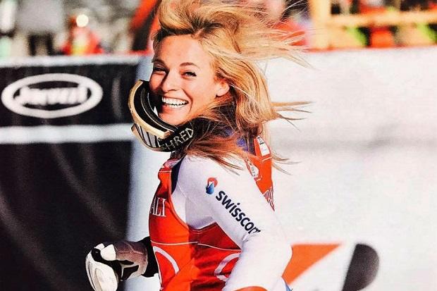 Lara Gut (Suiza) contará con el apoyo de su público en Saint Moritz. Imagen: facebook Lara Gut