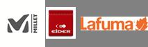 Logo Eider Millet Lafuma