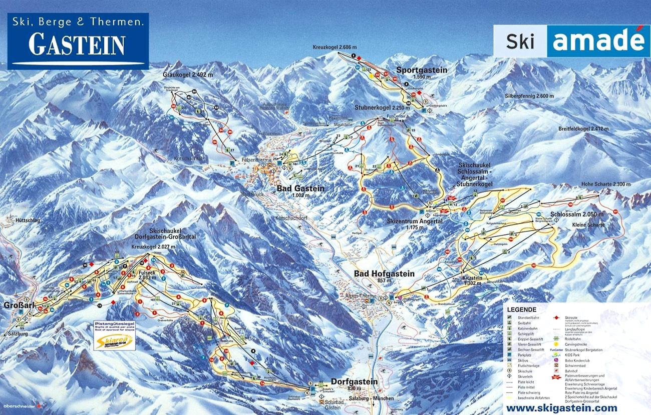 Bad Gastein-Bad Hofgastein | Lugares de Nieve