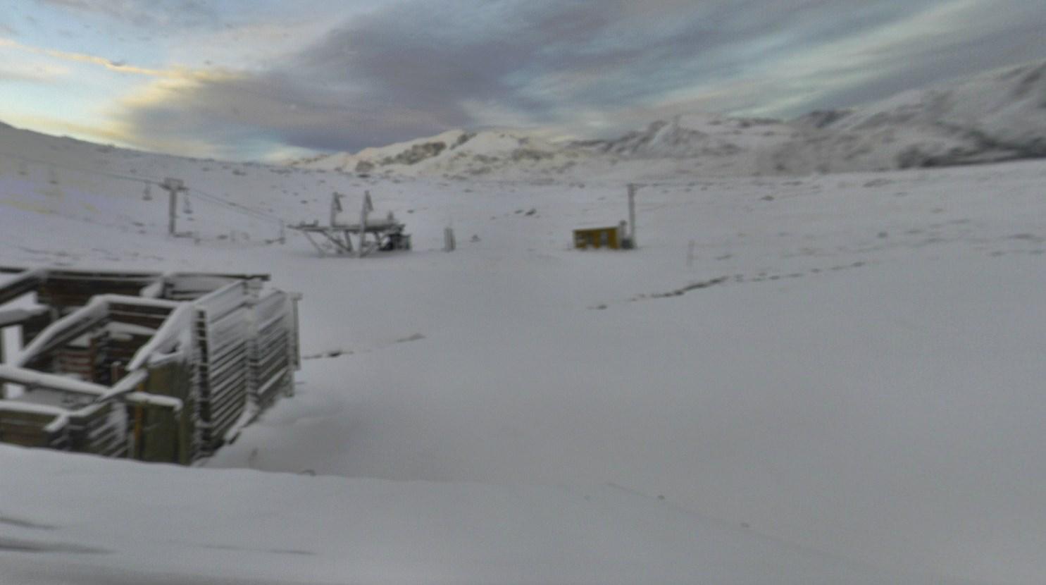 Lleg la nieve al pirineo catal n y andorra fotos de la - Webcam porte puymorens ...