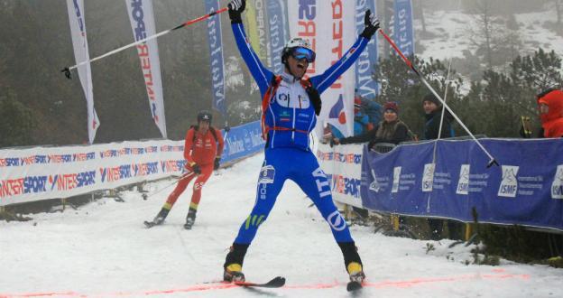 Kilian Jornet, subcampeón mundial por detrás de Lenzi en Alpago