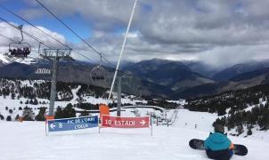 Sale de la UVI el esquiador herido de gravedad en Port Ainé