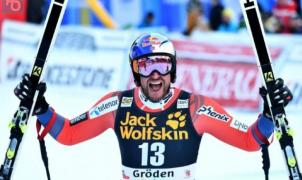 Svindal sigue intratable en el descenso, se adjudica la prueba de Val Gardena