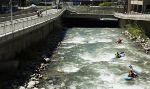 Andorra planea convertir el río Valira en un parque de aguas bravas urbano