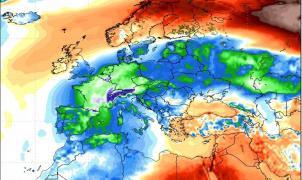 Previsión Meteo Ola de Frío: A las puertas de un cambio de tiempo con nevadas y aire siberiano