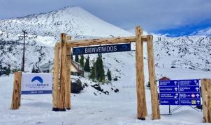 La temporada de invierno en Antuco podría comenzar esta semana
