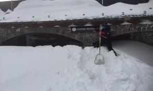 Andorra se rehace después de la gran nevada de la temporada,los accesos desde Francia abiertos