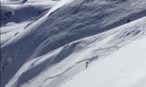 Una avalancha sepulta a un esquiador en Macedonia que sobrevive y lo relata