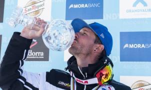 Bastien Montes consigue el Globo de Cristal de la Copa del Mundo KL 2017 en Grandvalira