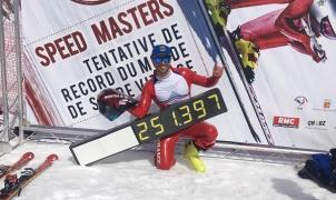 Bastien Montes voló a 251,397 km/hora en los Speed Masters 2017 de Vars