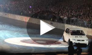 Los rusos reinventan el curling... ahora con coches