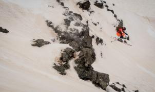 Contra viento y arena se disputa un épico Eldorado Freeride Junior en Boí Taüll