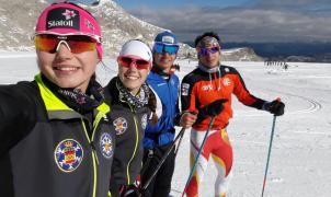El esquí de fondo aragonés en la concentración de la RFEDI estos días en Ramsau (Austria)