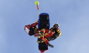La esquiadora italiana Nadia Fanchini, evacuada en helicóptero tras una espectacular caída en Austria