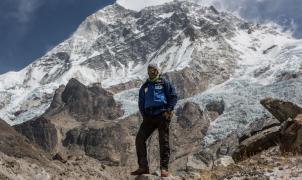 Ferran Latorre llega al Campo Base del Makalu, la quinta montaña más alta del planeta