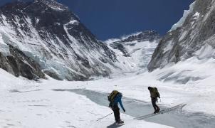 Ferran Latorre ascenderá este domingo a 7.400 metros en su camino al Everest