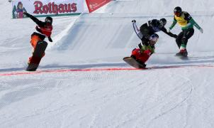 Vídeo de Lucas Eguibar y su segundo puesto de foto finish en la Copa del Mundo de snowboard