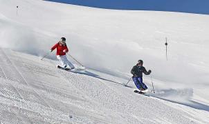 Sierra Nevada pone en marcha este fin de semana las Primeras Huellas y llega a los 100 km esquiables