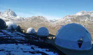 Formigal instala unos espectaculares 'Iglús' a 1.800 metros de altitud