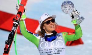 llka Stuhec consigue el Globo de Cristal del descenso en Aspen