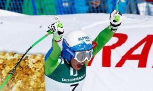 La 'dictadura' de Ilka Stuhec en la modalidad de descenso continua con el oro en St. Moritz