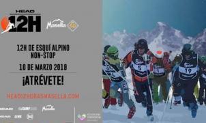 Vuelve cargada de nieve y emoción la carrera de esquí de resistencia 'HEAD 12H MASELLA'