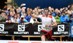Kilian Jornet guarda el piolet y vuelve a calzarse las zapatillas en la Mont Blanc Marathon