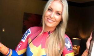 """Lindsey Vonn será la """"Capitana Marvel"""" en los próximos Juegos Olímpicos de Invierno"""