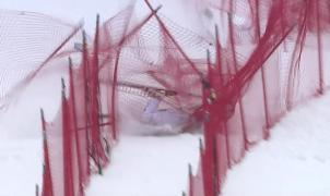 El vídeo de la espectacular caída de Lindsey Vonn en Lake Louise