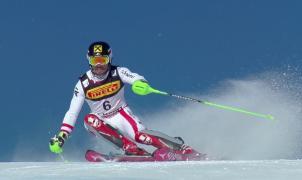 Hirscher se convierte en el rey de los mundiales de St. Moritz ganando el Slalom