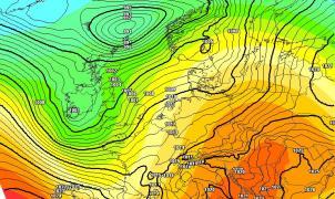 Previsión Meteo: Nevadas el viernes y sábado en el norte, mejora el domingo