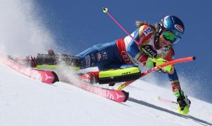 Mikaela Shiffrin cumple pronósticos y destroza a sus rivales en el Slalom de St. Moritz