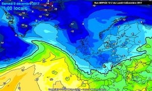 Previsión Meteo Puente de Diciembre: Inicio anticiclónico y final de nieve