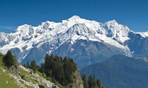Las autoridades recomiendan no ascender al Mont-Blanc debido a las altas temperaturas