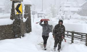 La nevada del jueves en Colorado y Wyoming dejó hasta 106 cm, récord desde hace 67 años