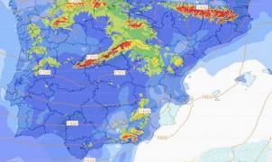 Previsión Meteo: Las borrascas la toman con España con nieve y viento próximos 4 días