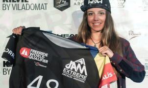 Nuria Castán terminó temporada con la participación en el Jam Extreme (FWQ) Arcalís