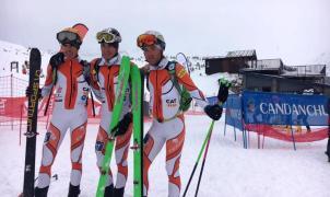 Oriol Cardona y Clàudia Galicia, Campeones de España de esquí de montaña