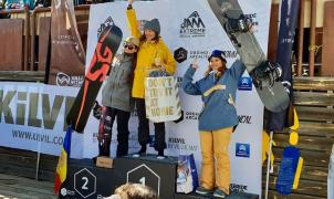 Saltos, espectáculo y podio de Núria Castán en la Jam Extrem 3* en Andorra