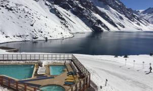 Por falta de nieve, limitan la venta de tickets en la estación chilena de Portillo