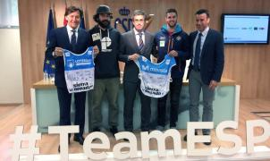 Lucas Eguibar y Regino Hernández presentan en Madrid las medallas conseguidas en los Mundiales