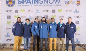 Los riders de snowboard cross RFEDI a punto para la Copa del Mundo de Val Thorens