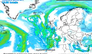 Avance Meteo: Nevadas en Cataluña en cotas bajas, viernes llegan nevadas a toda la Península